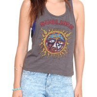 Sublime Sun Crop Girls Tank Top | Hot Topic