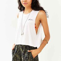MATE Palm Trees Cropped Muscle Tee