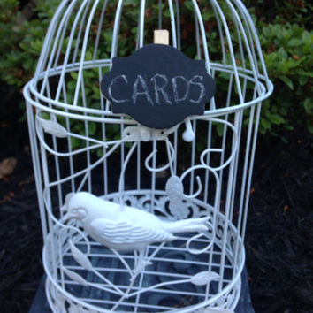 Birdcage, Wedding Birdcage, Card Holder