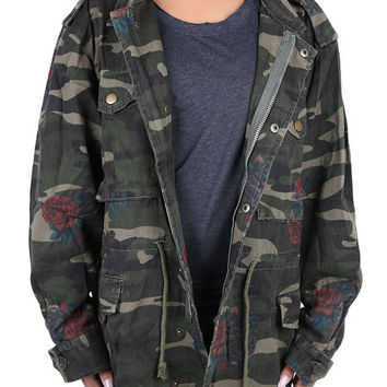 The Jane Parka in Camo
