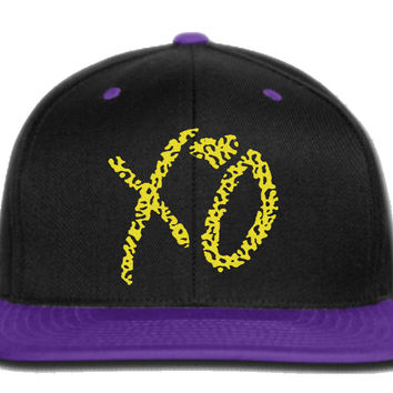 xo the weekend snapback hat