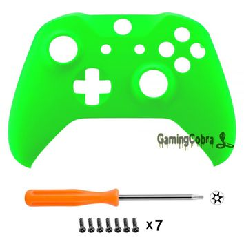 Custom Personalized Neon Green Replacement Top Shell for Xbox One X & One S Controller