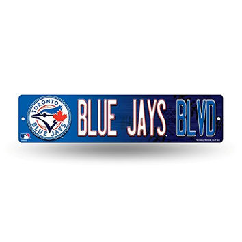 "Toronto Blue Jays MLB Baseball 16"" Street Sign Fan Wall Décor"
