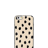 Kate Spade Gold Leopard Dot Resin Iphone 6 Case Blush ONE