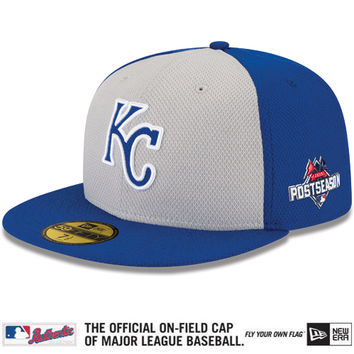Kansas City Royals Authentic Collection Diamond Era 59FIFTY Road Cap with 2015 Postseason Patch - MLB.com Shop
