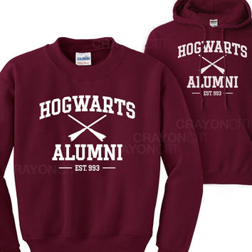 Harry Potter Hogwarts Alumni Hoodie or Sweatshirt