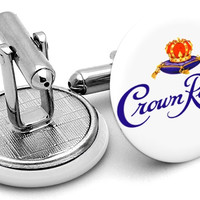 Crown Royal Whisky Cufflinks