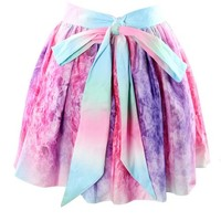 Fashion irregular galaxies skirt (S)