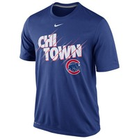 Nike Chicago Cubs Speed Legend Local Dri-FIT Performance Tee