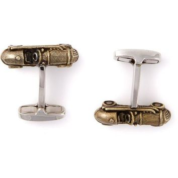 PEAPONJF Paul Smith vintage car cufflinks