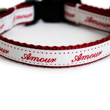 Amour Dog Collar