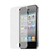 Generic Diamond Finishing Screen Protector for iPhone 4/4s, 1-Pack - Non-Retail Packaging - Clear