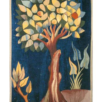 Fruit Tree Arbre Fruitier French Tapestry