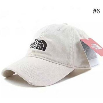 DCCKR2 THE NORTH FACE Men s & Women s Outdoor Couples Three-dimensional Embroidered Visor F-XMCP-YC #6