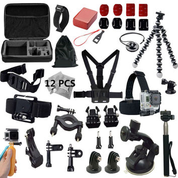 Gopro Accessories Kit for Gopro Hero 5 4 3 2 Black Edition