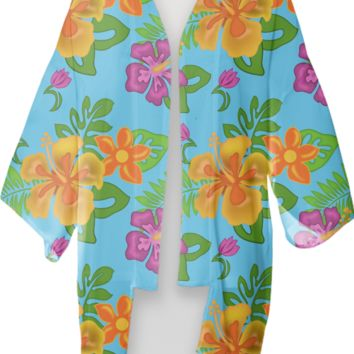 Hawaiian Tropical Kimono created by Natures Sol | Print All Over Me
