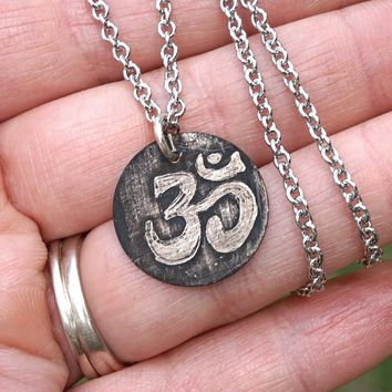 Ohm Pendant Necklace