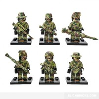 Commando Army Minifigures - Lego Compatible