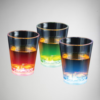 Flashing 2 oz. Shot Glass Set 3 Pc