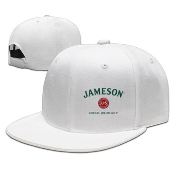 Jameson Whiskey Logo Funny Unisex Adult Womens Hip-hop Hats Mens Baseball Cap