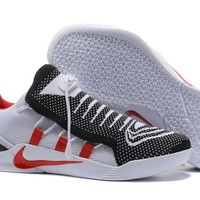 NIKE  KOBE 12 A.D.   NXT (Black/White /Red ) MEN'S  BASKETBALL SHOES