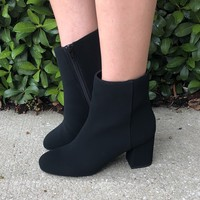 Night Out Booties- Black