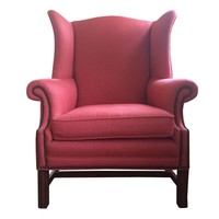 Pre-owned Classic High Back Wing Chair