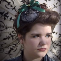 Ladies Gothic Fascinator The Itsty Bitsy Spider