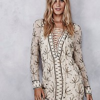 Free People Womens Sicily Beaded Mini