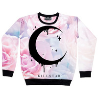Pastel Moon Sweatshirt from Kill Star