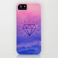 Diamond Sky iPhone & iPod Case by hyakume