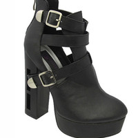 Lola Cut Out Chunky Platform | Bloody-Fabulous