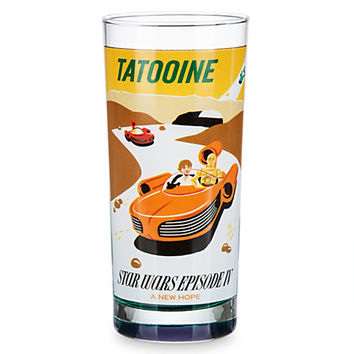 Star Wars Parks Attraction Poster Tall Tumbler - Tatooine | Disney Store