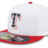 Texas Rangers MLB 2013 July 4th Stars & Stripes 59FIFTY Cap
