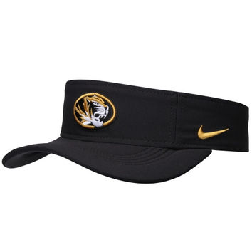 Missouri Tigers Nike Dri-FIT® Training Visor – Black
