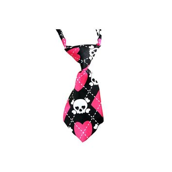 1pcs Tie Skull Style Dog pet Tie Wedding Accessories Cats Dogs Necktie Collar Holiday Decoration Grooming
