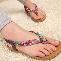 Brandy Flat Sandals from sniksa