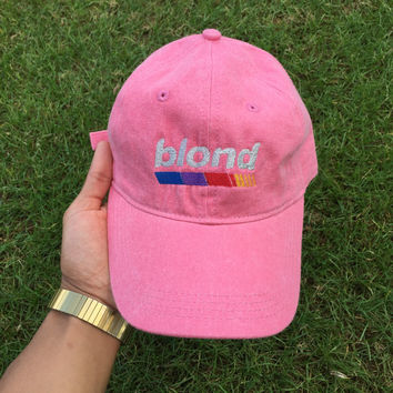 Blond Dad Hat