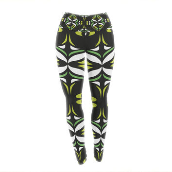 "Miranda Mol ""Retro Train"" Yoga Leggings"