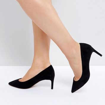 ASOS SOULFUL Wide Fit Mid Heels at asos.com