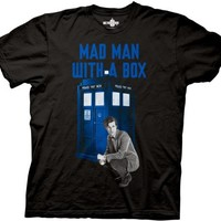Doctor Who Mad Man With a Box T-shirt
