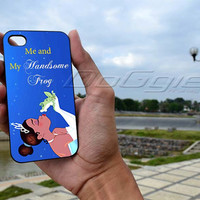 Princess and The Frog case - iPhone 4 Case ,iPhone 5 case,samsung galaxy S2, s3 and Samsung galaxy s4 Hard Plastic Case