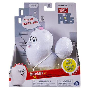 The Secret Life of Pets - Gidget Walking Talking Pets Figure