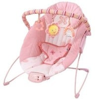 Bright Starts Cradling Bouncer Pretty in Pink