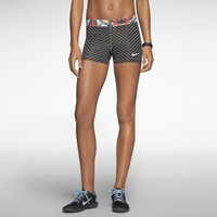 "Nike Pro Core 3"" Zigzag Women's Shorts - Dark Base Grey"
