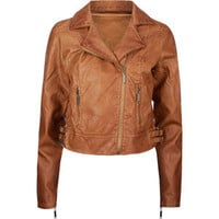 JOU JOU Faux Leather Womens Moto Jacket 204438406 | Jackets | Tillys.com