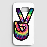 Hippie Peace Sign Samsung Galaxy S8 Case