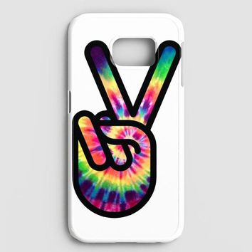 Hippie Peace Sign Samsung Galaxy S7 Case