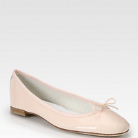 BB Patent Leather Ballet Flats - Zoom - Saks Fifth Avenue Mobile