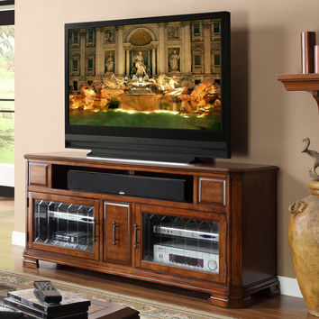 Tuscana 62 Inch Entertainment Cabinet TV Stand Toffee